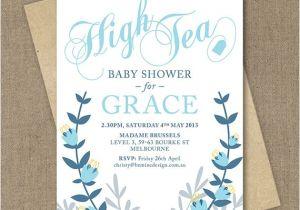 Baby Shower High Tea Invitation Wording 26 Best Baby Shower Invites Images On Pinterest