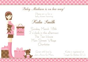 Baby Shower High Tea Invitation Wording Baby Shower Invitation Wording Baby Shower Invitation