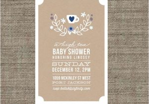 Baby Shower High Tea Invitation Wording High Tea Baby Shower Invitation Tea Party Invite Boy