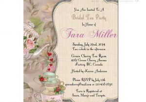 Baby Shower High Tea Invitation Wording Printable High Tea Party Invitations