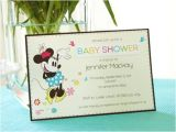 Baby Shower Invitation Acceptance Minnie Mouse Baby Shower Invitations Sample