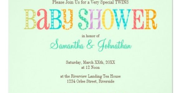 Baby Shower Invitation Ideas for Unknown Gender Baby Owl Twins Gender Unknown Baby Shower 5 25×5 25