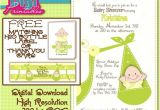 Baby Shower Invitation Ideas for Unknown Gender Baby Shower Invitation Gender Unknown Digital by