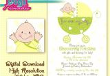 Baby Shower Invitation Ideas for Unknown Gender Baby Shower Invitation Gender Unknown Digital Download Diy