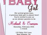Baby Shower Invitation Information Baby Shower Invitation Nice Gift Card Make Your Own Par