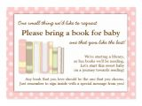 Baby Shower Invitation Inserts Bring Book Baby Shower Bring A Book Insert