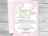 Baby Shower Invitation Packages Amazon Baby Shower Invitation Sugar and Spice Baby