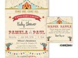 Baby Shower Invitation Packages the Best Circus Baby Showers Ideas St Birthday and Baby