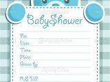 Baby Shower Invitation Postcards Baby Shower Invitation Cards