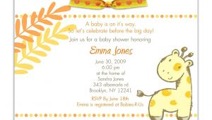 Baby Shower Invitation Text Template Baby Shower Invitation Baby Shower Invitations Templates