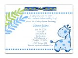 Baby Shower Invitation Text Template Baby Shower Invitation Wording for A Boy