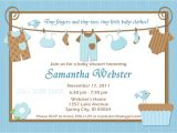 Baby Shower Invitation with Picture Ideas for Boys Baby Shower Invitations
