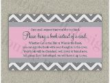 Baby Shower Invitation Wording for Books Instead Of Cards Baby Shower Invitation Fresh Baby Shower Books Instead