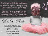 Baby Shower Invitation Wording for Girls Baby Shower Invitation Wording for A Girl