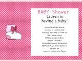 Baby Shower Invitation Wording for Girls June 2012