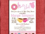 Baby Shower Invitation Wording for Office Party Printable Fice Donut Baby Shower by Puzzleprints On Etsy
