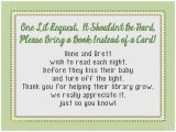 Baby Shower Invitations asking for Books Baby Shower Invitation Best Baby Shower Invitation