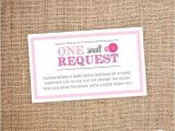 Baby Shower Invitations asking for Books Children S Book Request – Baby Shower Digital File