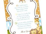 Baby Shower Invitations Books Instead Of Cards Wording to ask for Baby Books Instead Of the Card