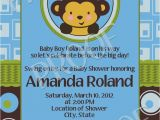 Baby Shower Invitations Boy Monkey theme 17 Best Images About Monkey Baby Shower Ideas On Pinterest