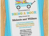 Baby Shower Invitations Bring A Book Instead Of Card Baby Shower Invitation New Baby Shower Invitation Wording