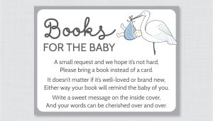 Baby Shower Invitations Bring A Book Instead Of Card Stork Baby Shower Bring A Book Instead Of A Card Invitation