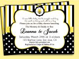 Baby Shower Invitations Bumble Bee theme Baby Shower Invitations Mommy to Bee Baby Shower