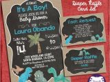 Baby Shower Invitations Dinosaur theme Dinosaur Baby Shower Chalk Style It S A Boy theme Baby