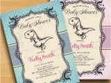 Baby Shower Invitations Dinosaur theme Dinosaur Baby Shower Invitation Baby Boy Shower Baby Girl
