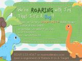 Baby Shower Invitations Dinosaur theme Dinosaur Baby Shower Invitation