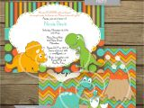 Baby Shower Invitations Dinosaur theme Dinosaur themed Baby Shower Invitation Printable