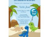 Baby Shower Invitations Dinosaur theme Personalized Dinosaur Baby Invitations