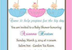 Baby Shower Invitations for Triplets 41 Best Babyshower Triplet Images On Pinterest