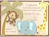 Baby Shower Invitations Ideas Jenski Family Updates Katie S Jungle Baby Shower