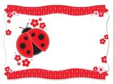 Baby Shower Invitations Ladybug theme 104 Best Images About Lady Bug Background On Pinterest