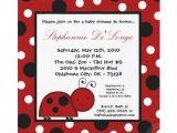 Baby Shower Invitations Ladybug theme Ladybug Baby Shower Invitation and theme Unique Baby