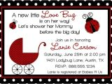 Baby Shower Invitations Ladybug theme Special Ladybug Baby Shower Design Ideas Home Party