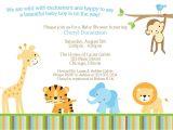 Baby Shower Invitations Layouts How to Safari Baby Shower Invitations Designs Winsome