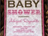 Baby Shower Invitations On Sale On Sale Pink and Brown Damask Baby Shower Invitations by