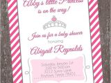Baby Shower Invitations On Sale On Sale Princess Baby Shower Invitations by Paper Monkey