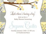 Baby Shower Invitations Owls Printable Owl Baby Boy Shower Invitation Printable Baby Shower