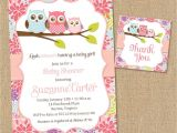 Baby Shower Invitations Owls Printable Owl Baby Shower Invitations Diy Printable Baby Girl