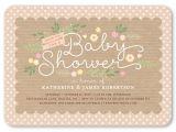 Baby Shower Invitations Shutterfly Lovely Scallop Girl 5×7 Custom Baby Shower Invitations