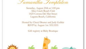 Baby Shower Invitations Shutterfly Safari Adventure 5×5 Custom Baby Shower Invitations