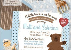 Baby Shower Invitations Teddy Bear theme 11 Best Teddy Bear Baby Shower Ideas Images On Pinterest