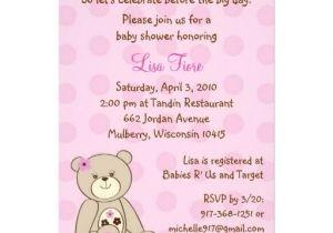 Baby Shower Invitations Teddy Bear theme 353 Best Bear Baby Shower Invitations Images On Pinterest