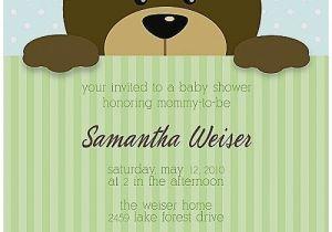 Baby Shower Invitations Teddy Bear theme Baby Shower Invitation Awesome Baby Shower Invitations