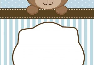 Baby Shower Invitations Teddy Bear theme Neutral Teddy Bear Baby Shower Invitations