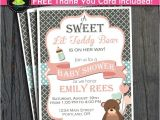 Baby Shower Invitations Teddy Bear theme Teddy Bear Baby Shower Invitation Baby Shower Ideas