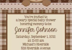 Baby Shower Invitations Teddy Bear theme Teddy Bear Invitation Personalized Custom Teddy Bear